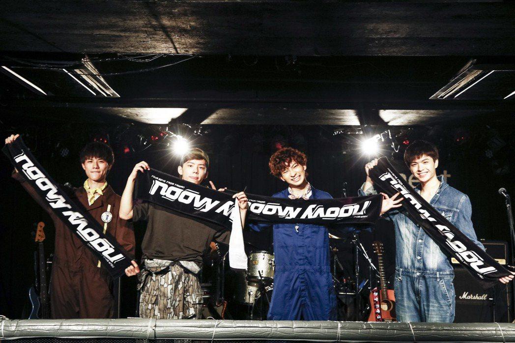 男團noovy在日本開個唱,販售周邊商品同名毛巾  圖/伊林提供