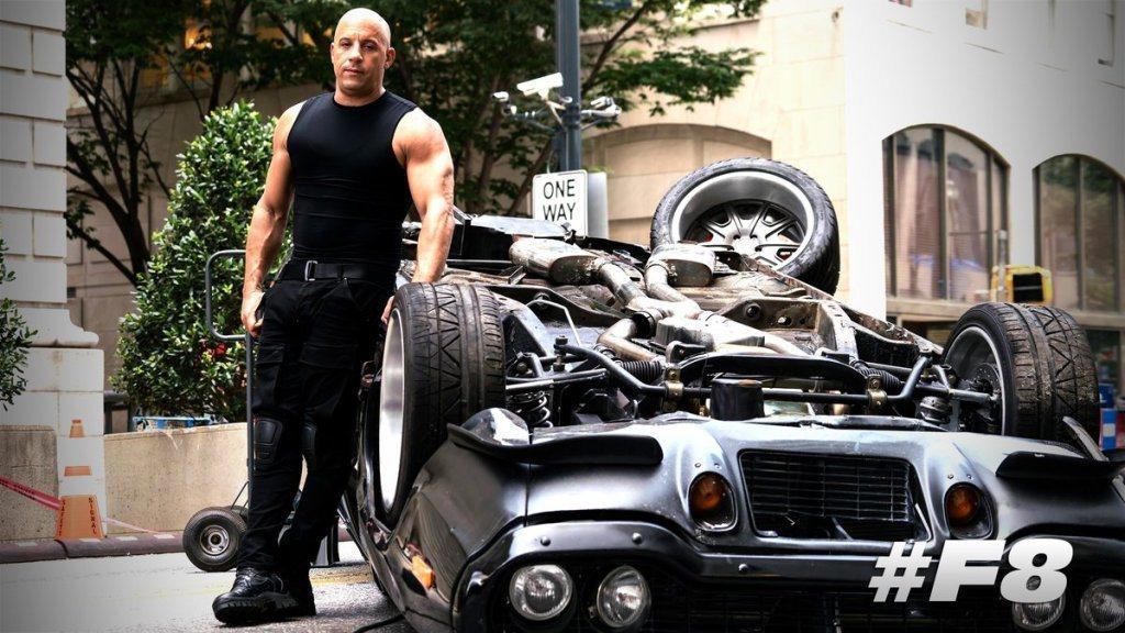 馮迪索(Vin Diesel)主演的「玩命關頭」在全球大賣。圖/環球提供