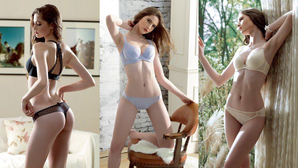 超軟鋼圈舒適無痕、肩帶可拆、刺繡蕾絲設計精緻迷人,Lady皇室情人系列正式上市。...
