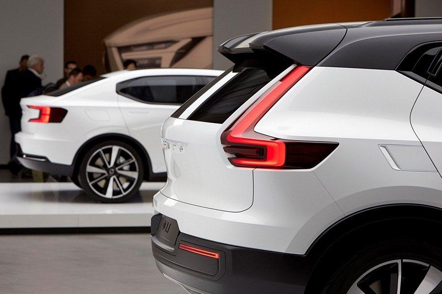 VOLVO全新40.1、40.2兩台概念車。 VOLVO提供