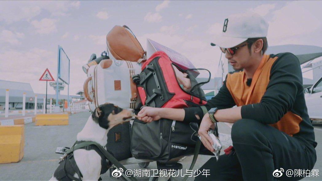 圖/擷自陳柏霖微博
