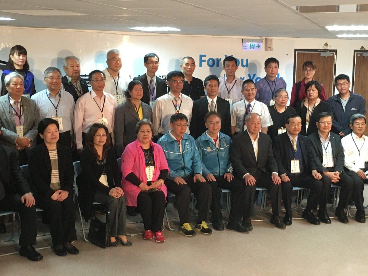 今天上午台北市長柯文哲前往北投區行政中心舉行行動市政會議。記者張世杰/攝影