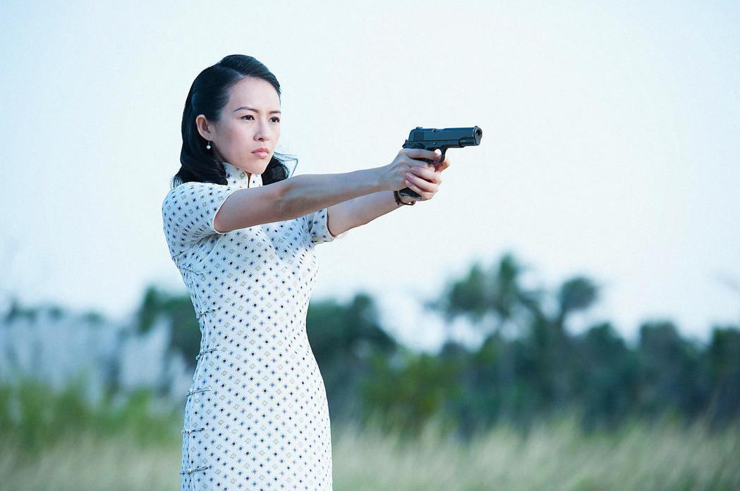 章子怡在「羅曼蒂克消亡史」演出戲份極重的交際花。圖/甲上提供