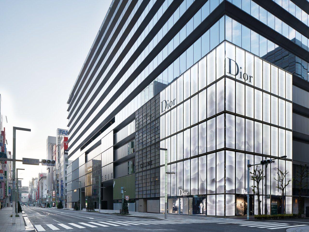 DIOR東京銀座GINZA SIX精品店日前開幕。圖/DIOR提供