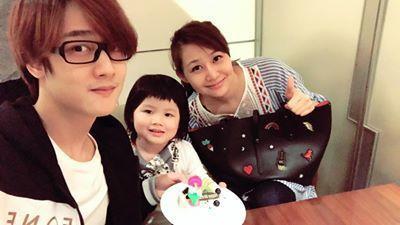「那對夫妻」的寶貝女兒妮妮今天3歲生日。圖/摘自臉書