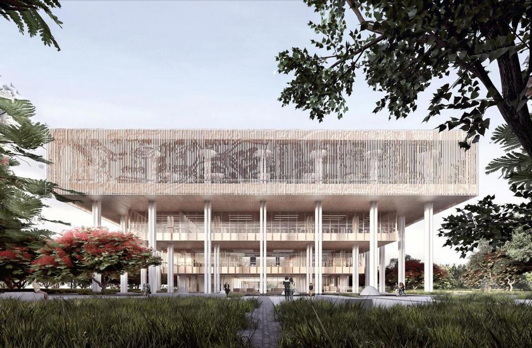 台南市立圖書館總館工程本月發包,下月將動工,預計2019年啟用。 圖/台南市文化...