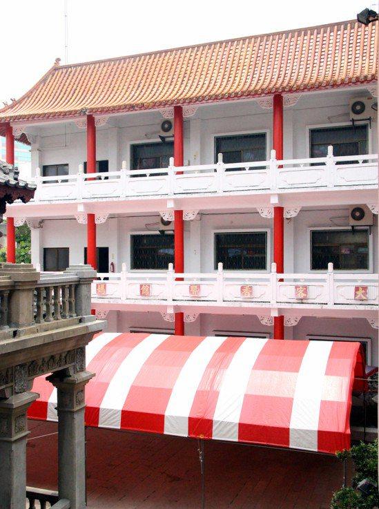 彰化市南瑤宮在全中運也接待70多名選手入住。 記者林敬家/攝影