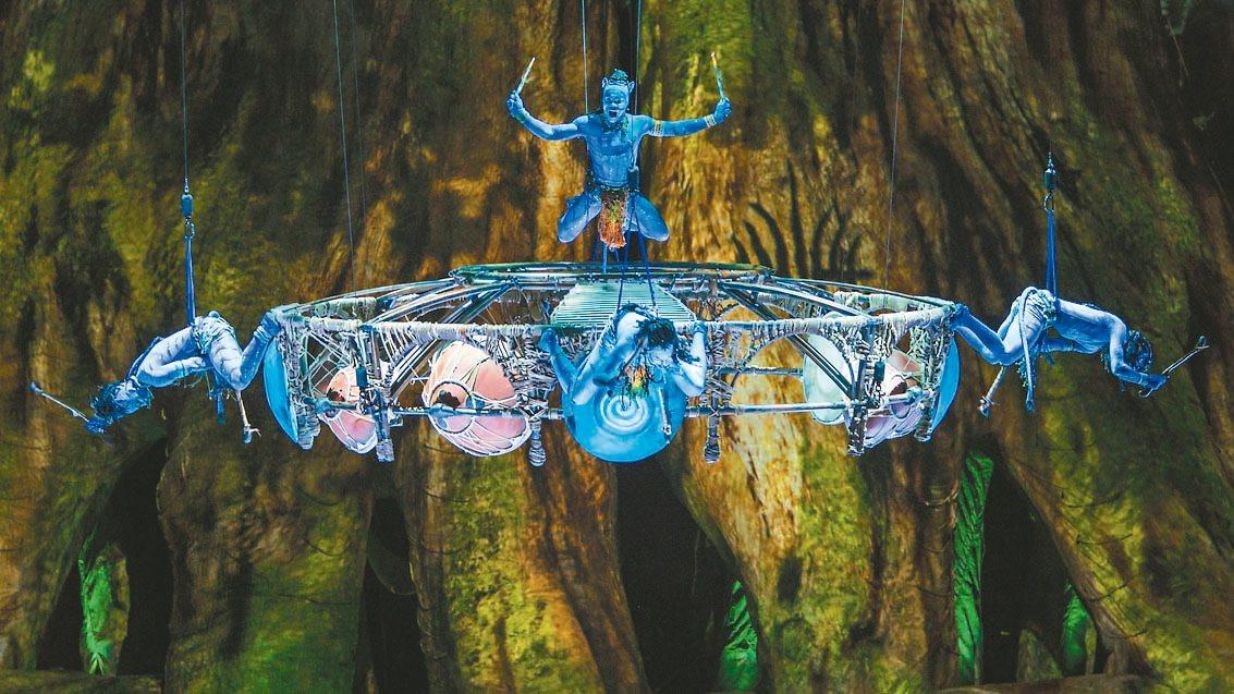 拋開地心引力太陽馬戲與《阿凡達》名導卡麥隆合作的《阿凡達前傳》七月在台上演,...