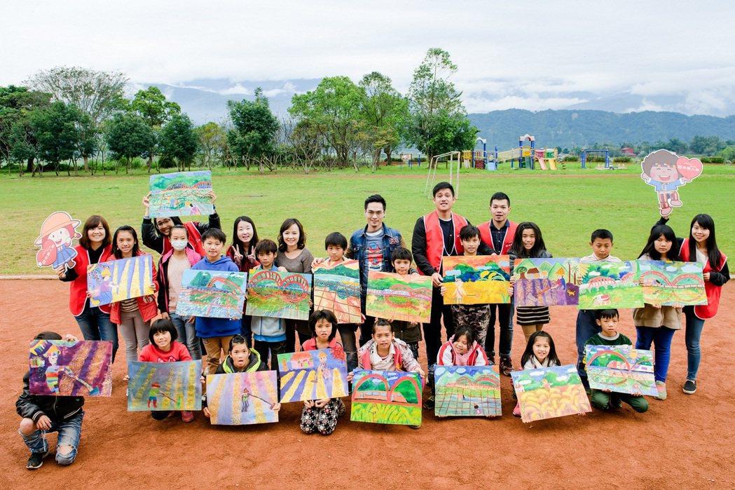 中壽「玩美力計畫」透過美學教育 助偏鄉孩子建立自信。 中國人壽/提供