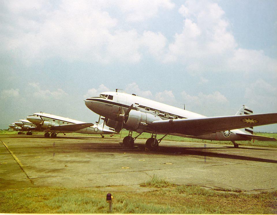 C-47型運輸機 (圖片來源/空軍司令部)