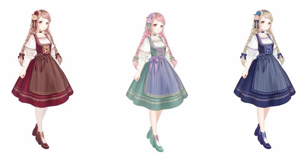 新套裝「田園珍珠」可從「晝夜迴廊」中抽取獲得。