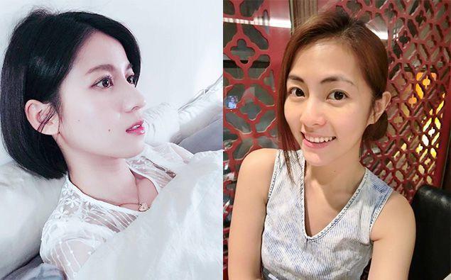 圖/連俞涵臉書官方粉絲團;任容萱臉書官方粉絲團,Beauty美人圈提供