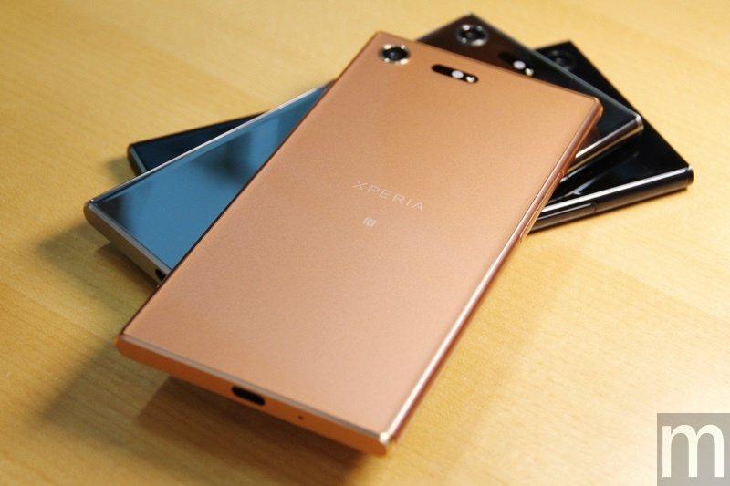 Xperia XZ Premium镜粉灵感来自金属红铜色、增添女性元素