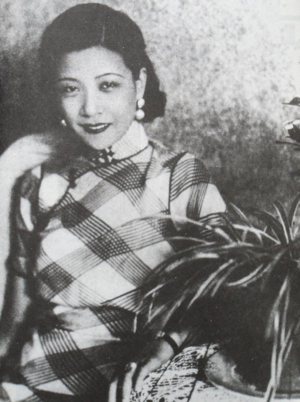 阮玲玉是默片時期的上海名女星。圖/摘自pinterest
