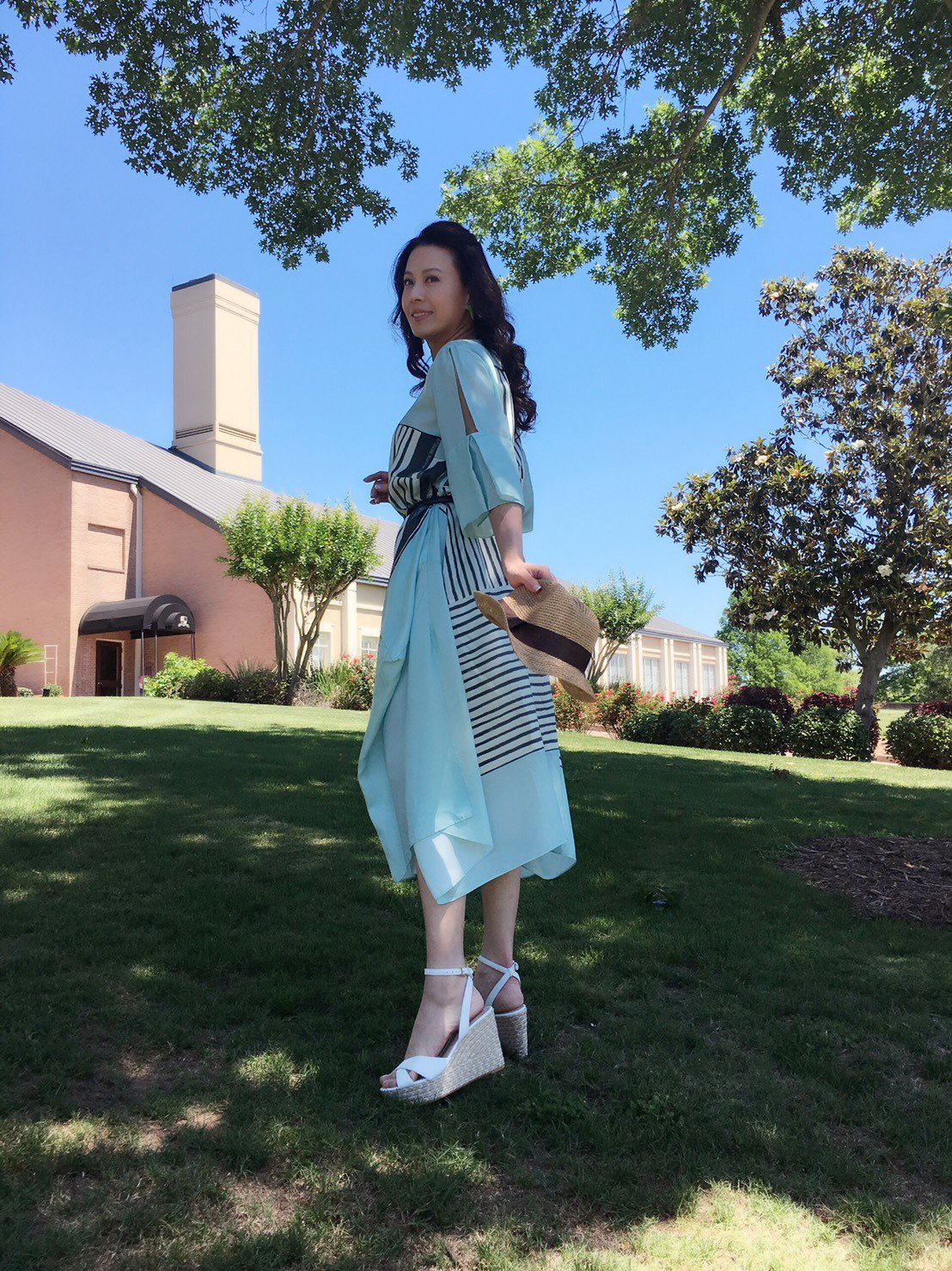 涂善妮受邀到美國參加影展並客串演出電影。圖/涂善妮提供