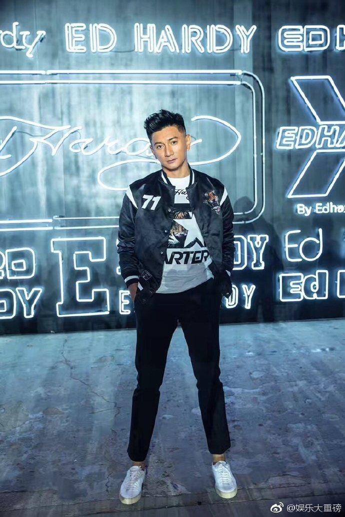 吳奇隆出席品牌活動時罕見地對記者吐苦水。圖/取自微博