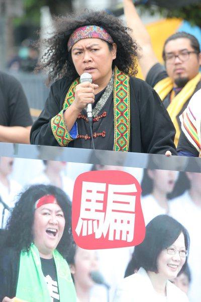 曾在蔡英文總統就職典禮演出的原住民歌手巴奈,痛批政府當初的承諾「說的好聽」。 本...