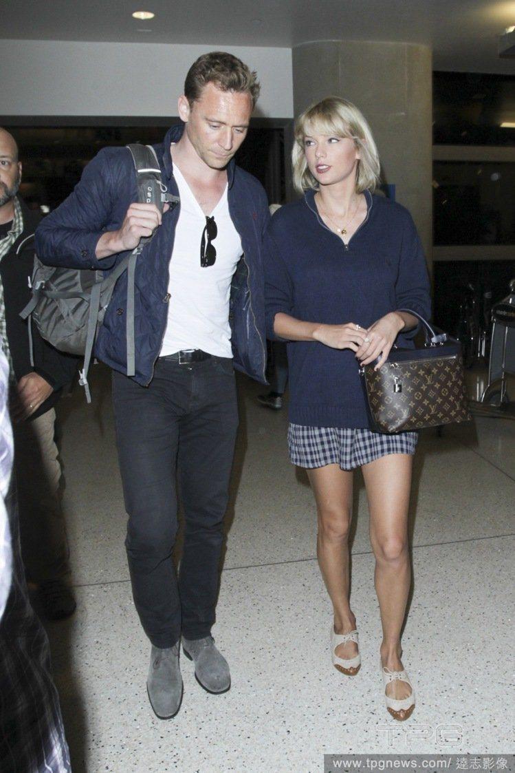 湯姆希德斯頓與泰勒絲的高調戀情招致反效果。圖/達志影像