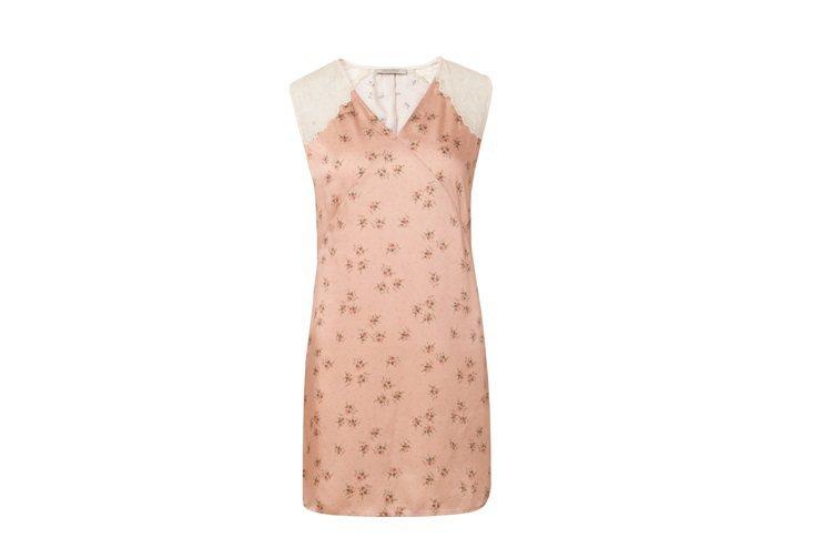 微風獨家Prism印花絲質洋裝,售價8,900元。圖/AllSaints提供