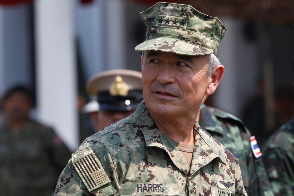 美軍太平洋司令哈里斯上將繼任人選將受到華府亞洲盟友密切關注。。路透