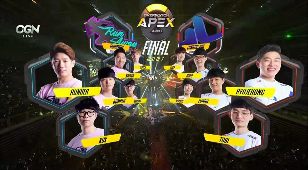 APEX第二季總決賽,Lunatic-Hai與RunAway兩大強隊的龍爭虎鬥相...