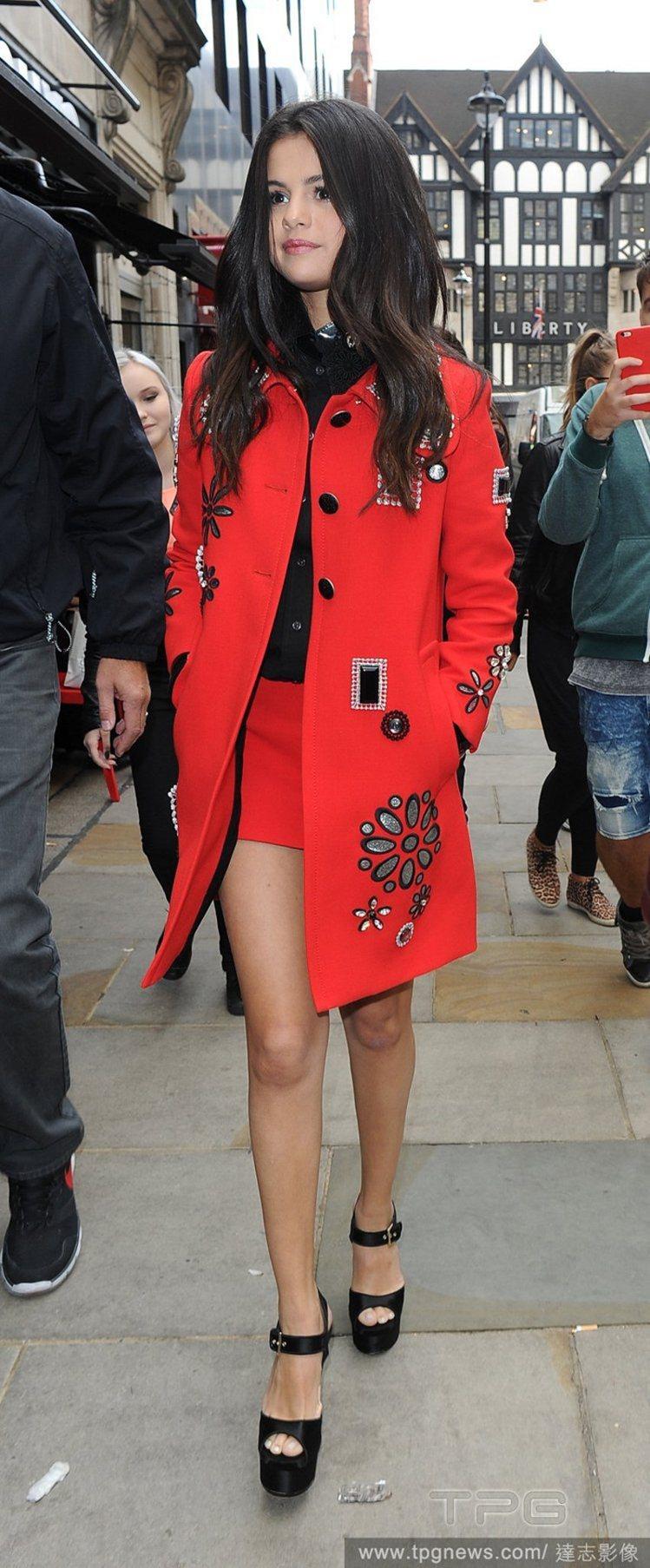 小天后席琳娜戈梅茲(Selena Gomez)。圖/達志影像