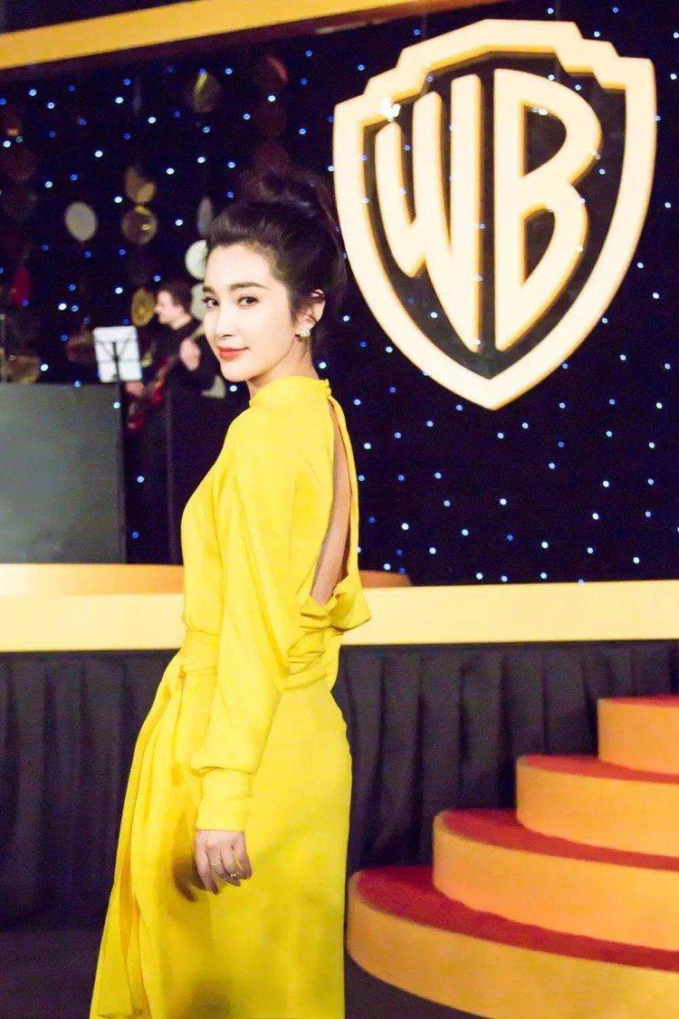 中國女星李冰冰。圖/擷自微博