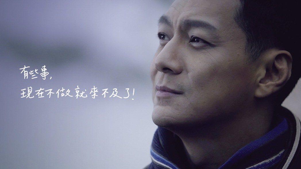 演藝圈好爸爸聶雲近來接拍和泰汽車「一車一樹」公益廣告。 圖/和泰汽車提供