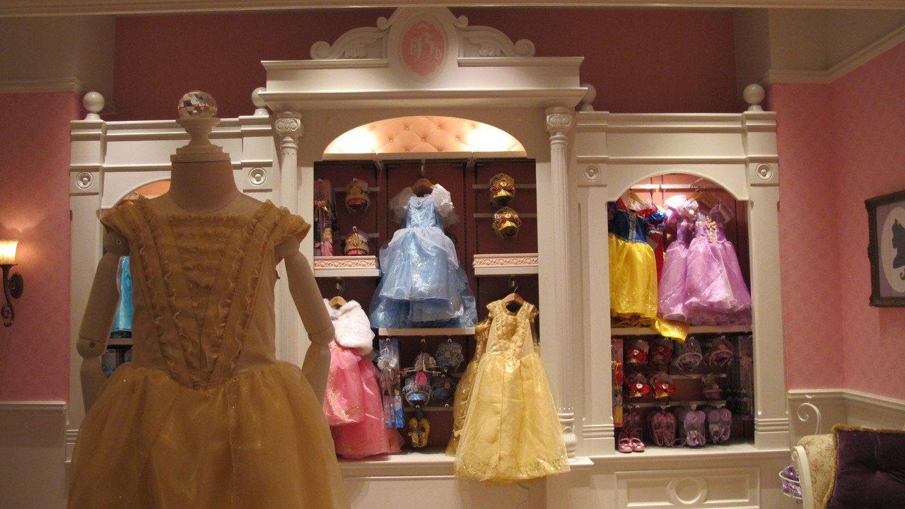 迪士尼樂園酒店的魔法化妝廳。記者曾楹純/攝影