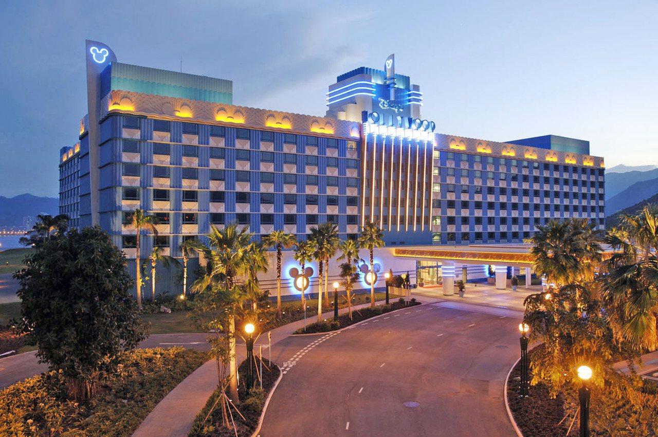 迪士尼好萊塢酒店。圖/香港迪士尼樂園提供