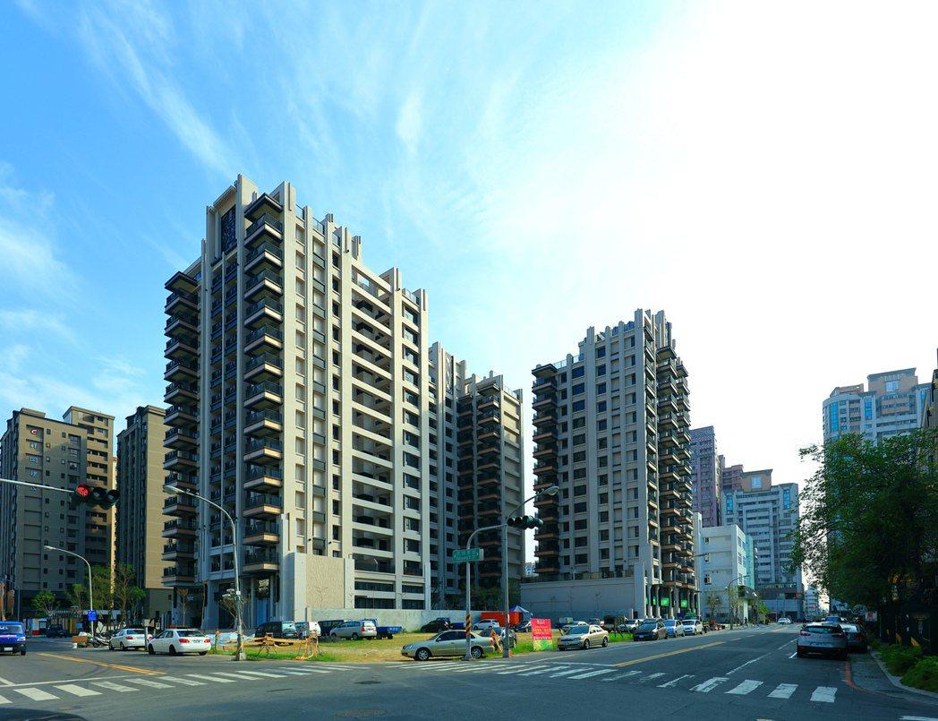 「方城市」雙面臨路。 圖片提供/城揚建設
