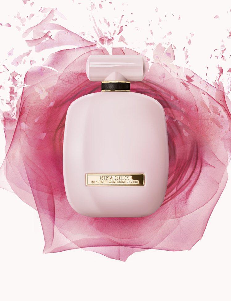Nina Ricci魅惑薔薇女性香水,50ml售價3,000元、80ml售價3,...