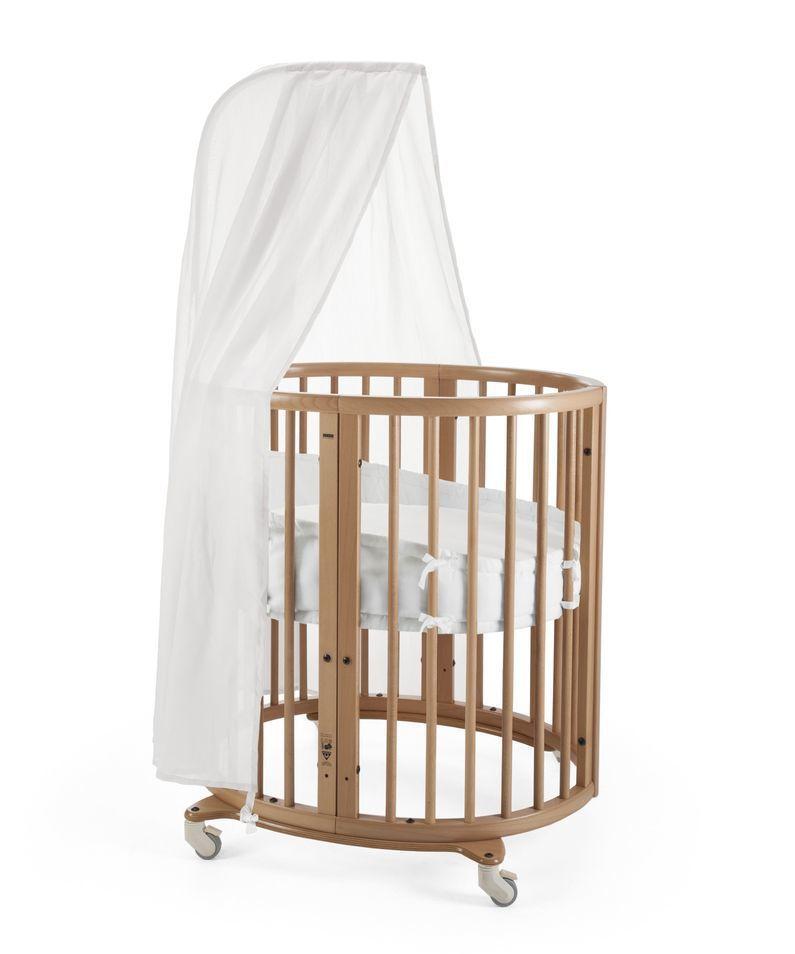 北歐名牌嬰兒床雖然售價昂貴,卻受到中外演藝界名人喜愛。圖/摘自Stokke官網