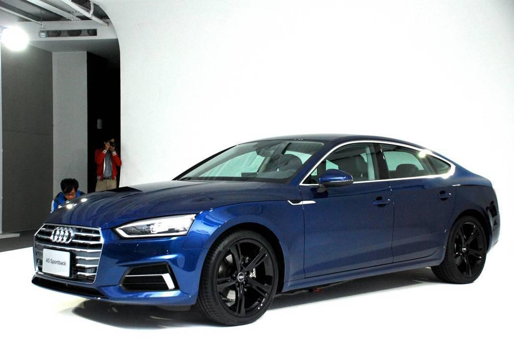 新世代Audi A5 Sportback Sport。圖/記者林昱丞攝影