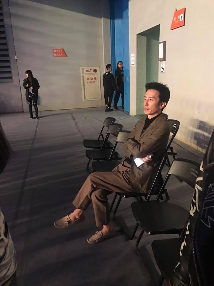 韓知名音樂人柳熙烈也到場欣賞孔劉見面會。記者梅衍儂/攝影 梅衍儂