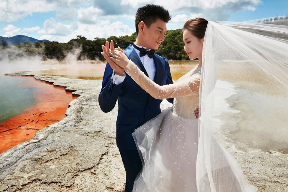 藝人吳奇隆與劉詩詩結婚2年多,被問到何時可以當爸爸,吳奇隆昨天說,「不知道,快了