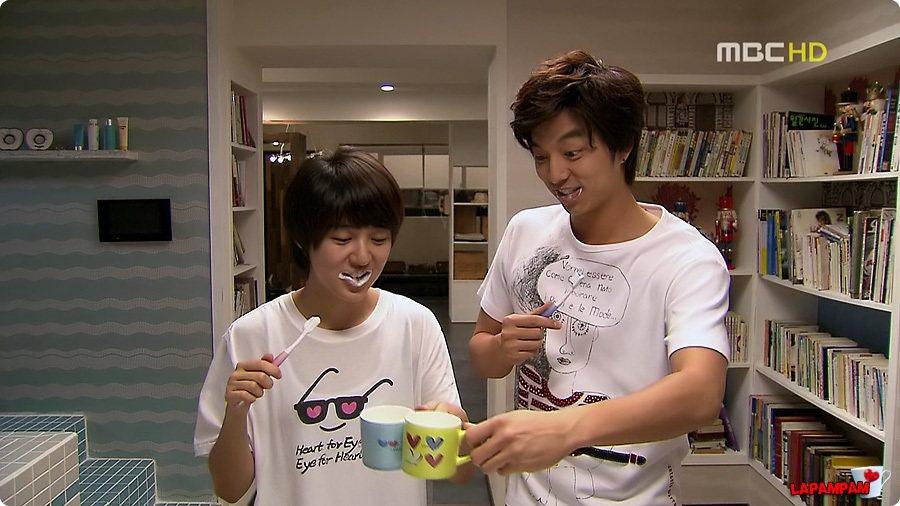 「咖啡王子一號店」時期的孔劉超清新。圖/取自微博