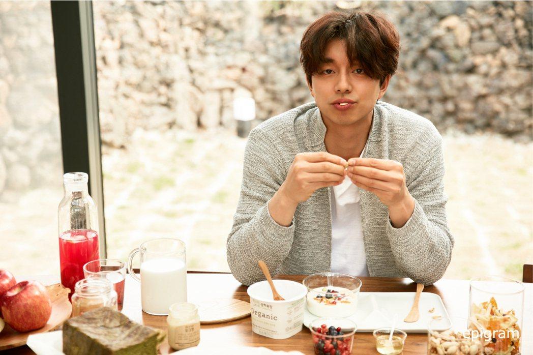 epigram的形象照是邀請孔劉粉絲一起吃早餐的美夢fu。圖/取自twitter