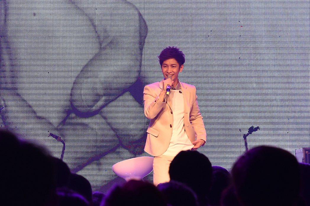 張智成出道18年,首度在高雄開唱。圖/IME提供