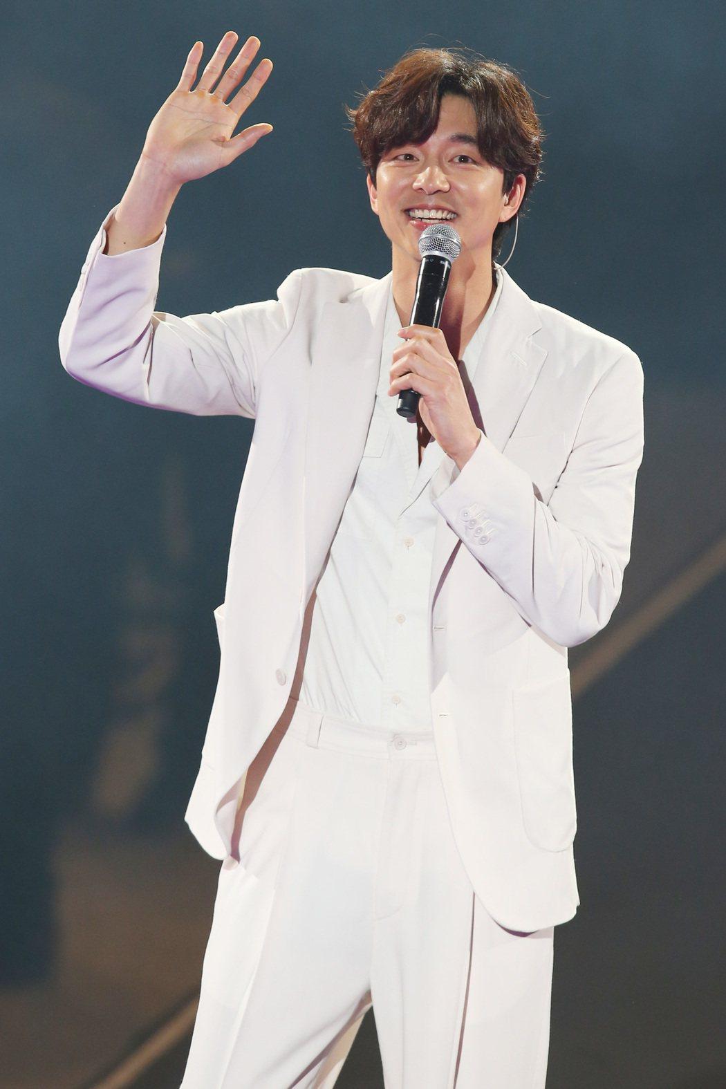 孔劉29日舉辦見面會。記者王騰毅/攝影