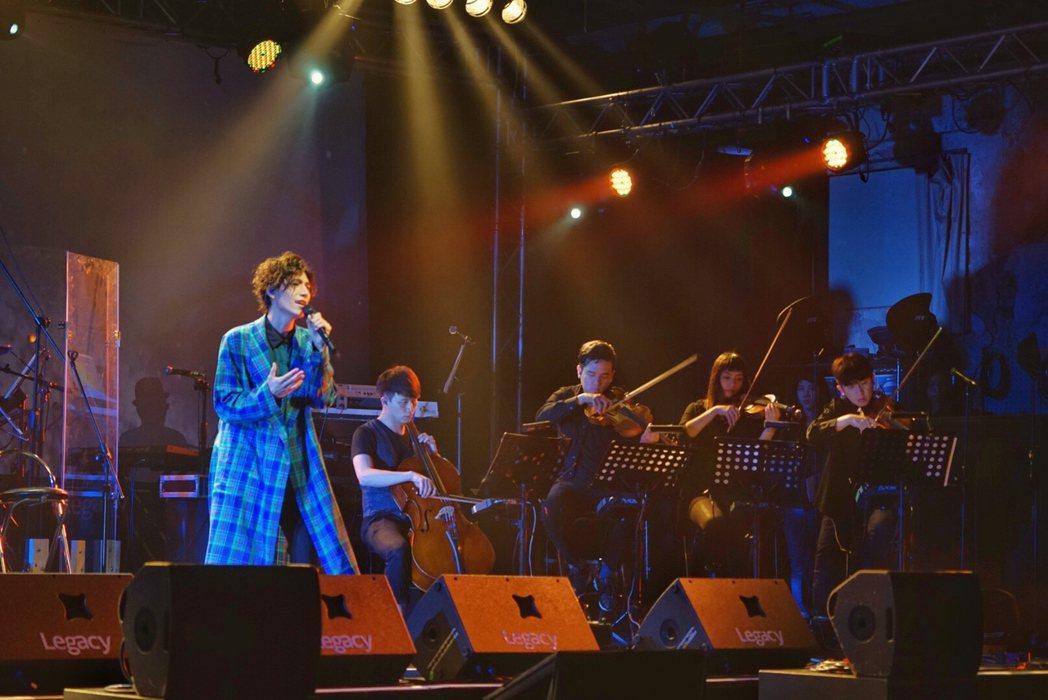 潘裕文演唱會,回顧9年音樂路。圖/闊思提供