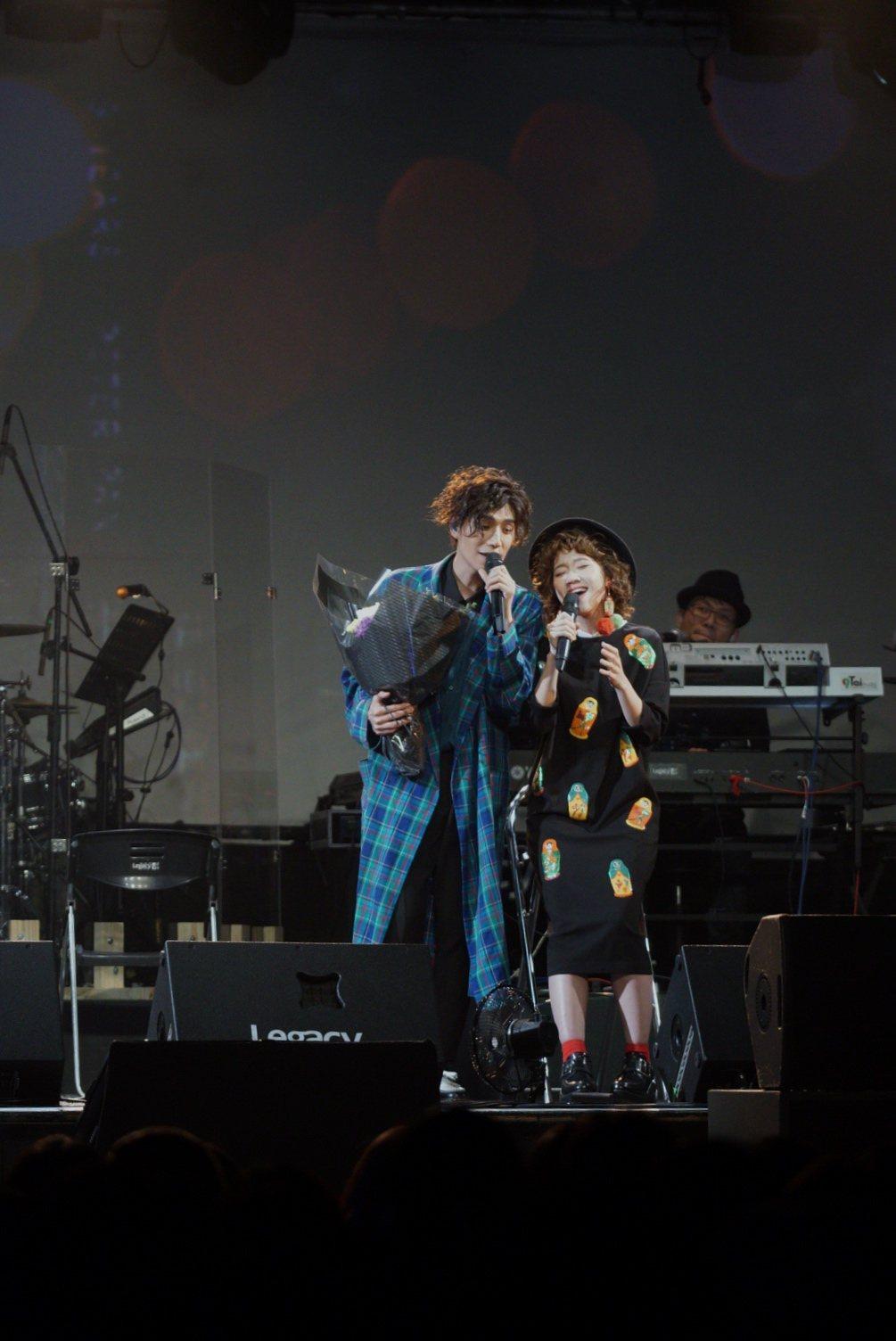 潘裕文演唱會,竟會LuLu下跪求婚。圖/闊思提供