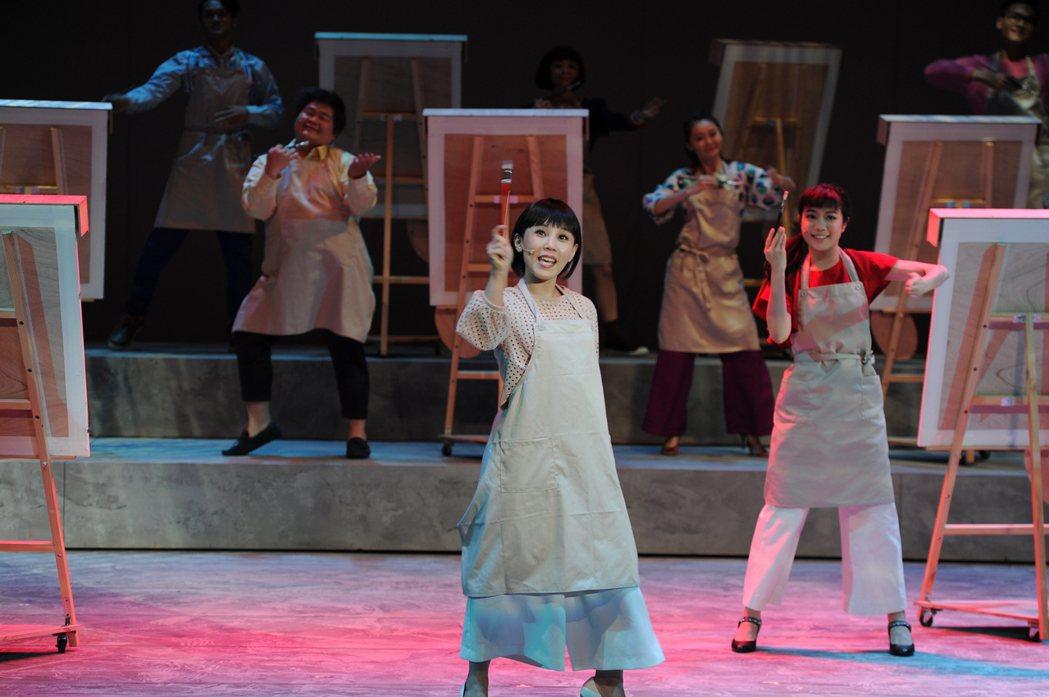 千面惡女音樂劇首演,李佳薇演出賣力。圖/寬宏提供