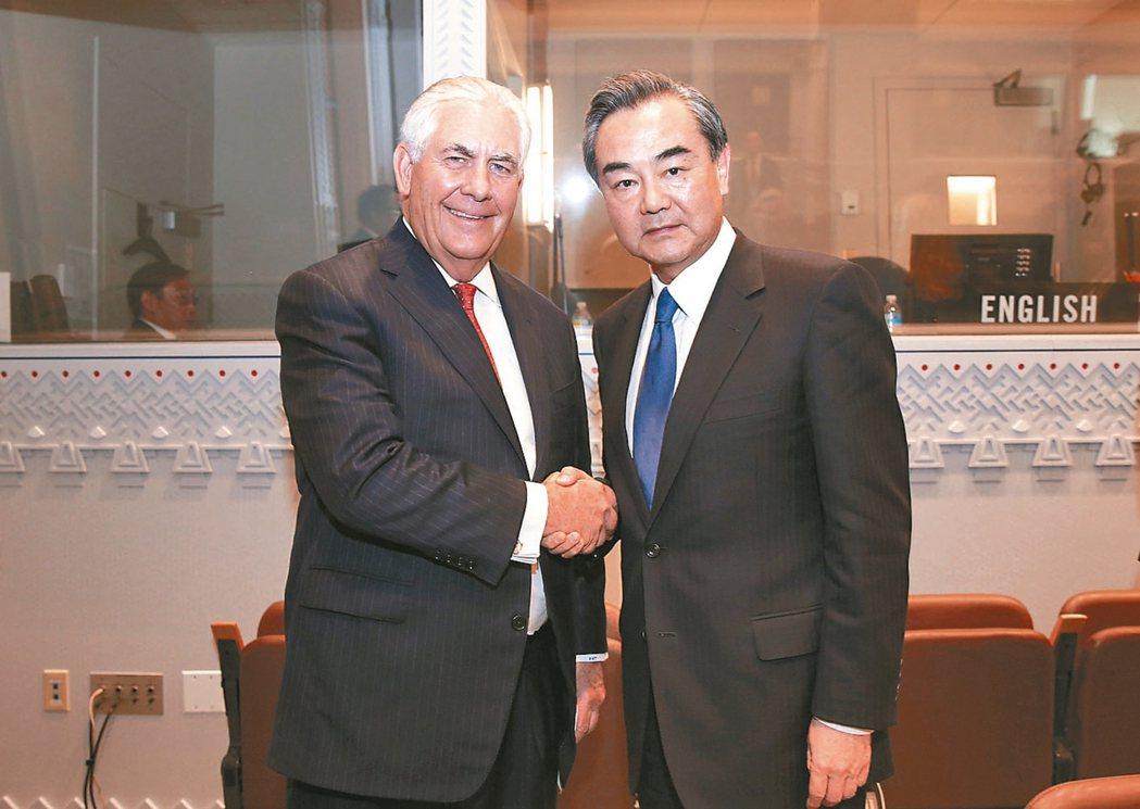 解决朝鲜半岛问题 王毅:钥匙不在中国手里