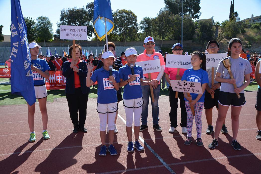 华人运动会 昨在美国盛大举行