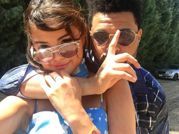 席琳娜今年和威肯(The Weeknd)展開新戀情。圖/擷自instagram
