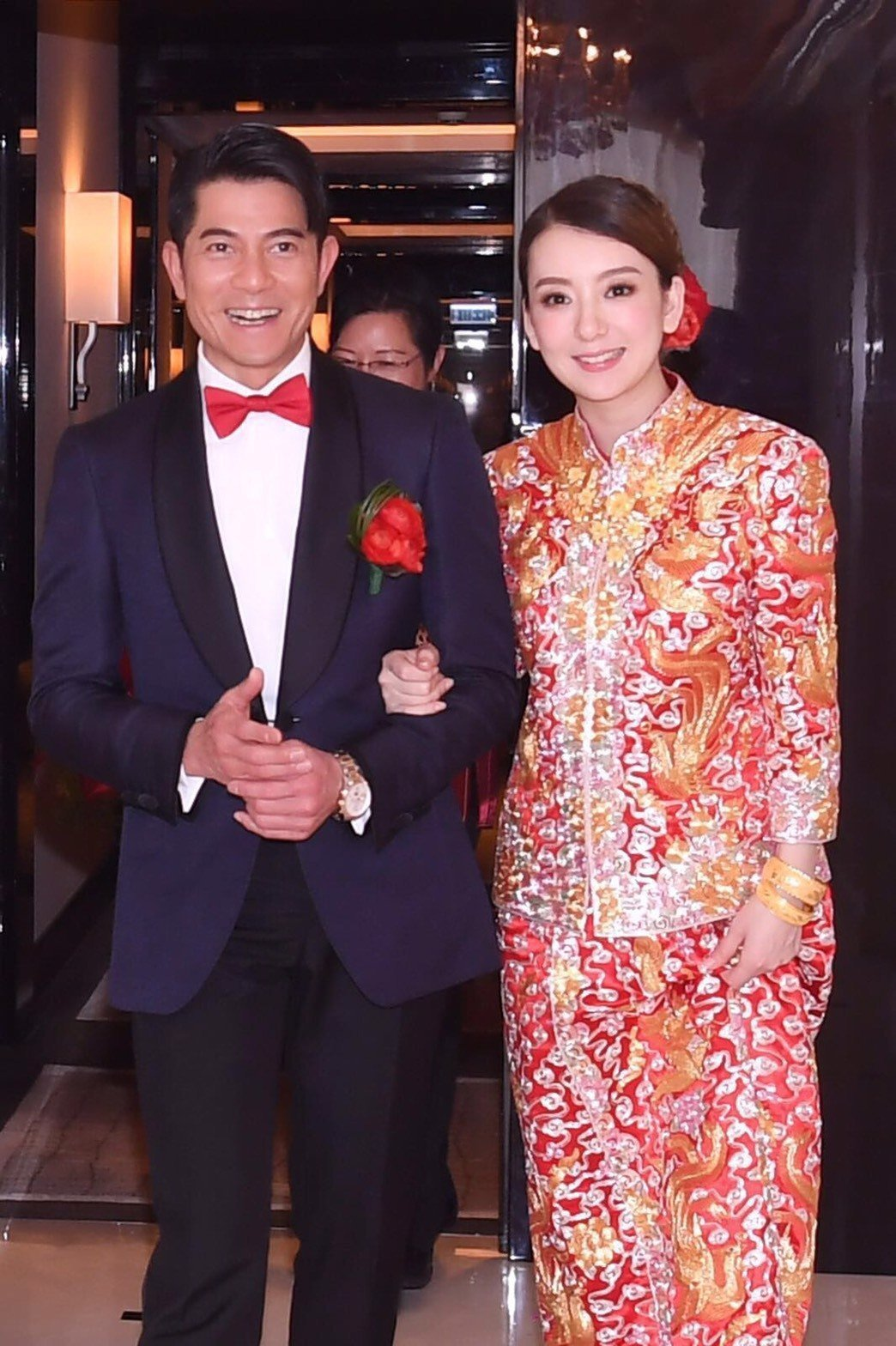 郭富城與方媛結婚,成為娛樂圈矚目大事。圖/小美工作室提供
