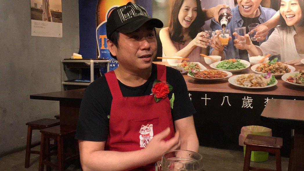 「小彬彬」溫兆宇和再婚妻婚姻鬧僵,熱炒店慘淡經營。記者陳慧貞/攝影