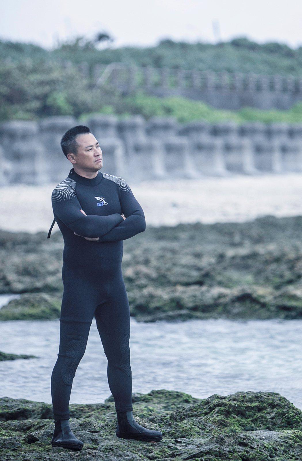 江宏恩為「海豬仔」增胖8公斤。圖/公視提供