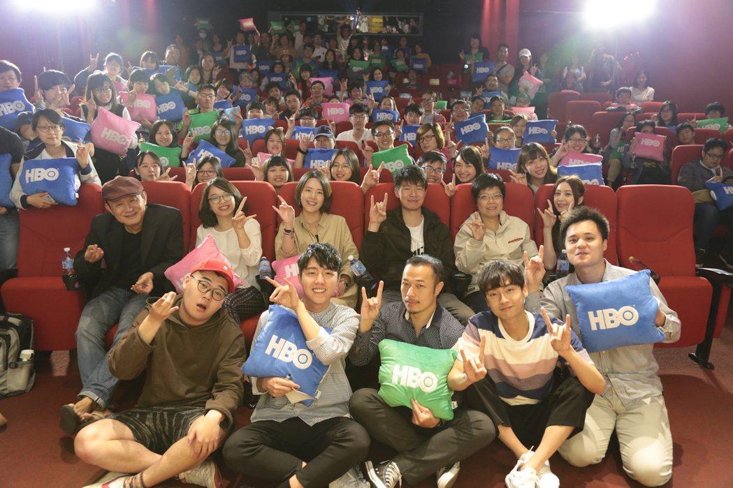 「通靈少女」完結篇在戲院舉辦特映會。圖/HBO Asia提供